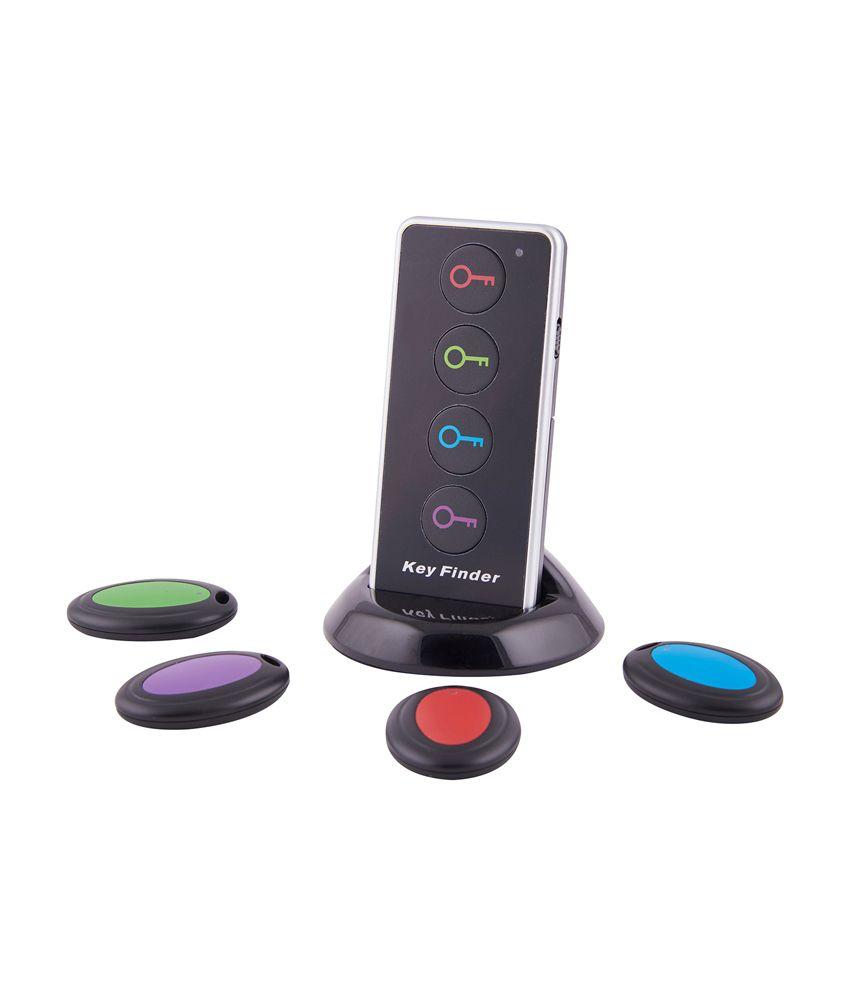 Smiledrive Black Ultimate Wireless Key Finder & Item Locater