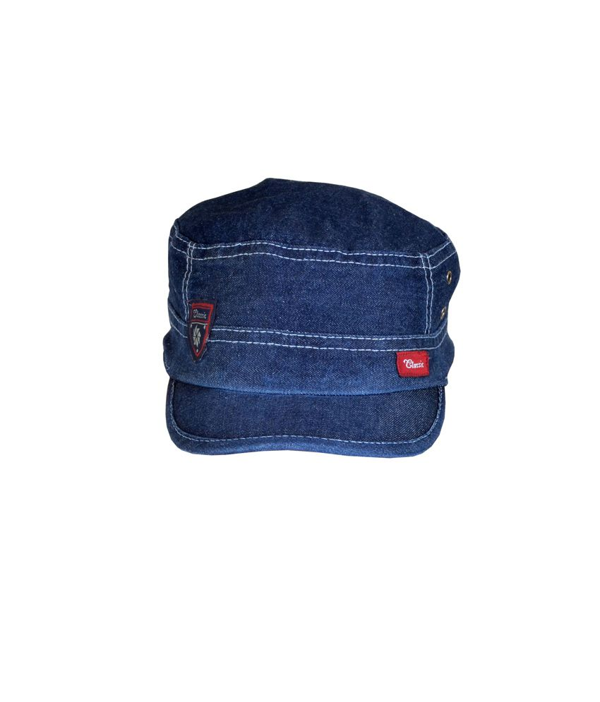 Alpha Man Cool In Denims Dual-stitched Denim Hipster Baseball Cap
