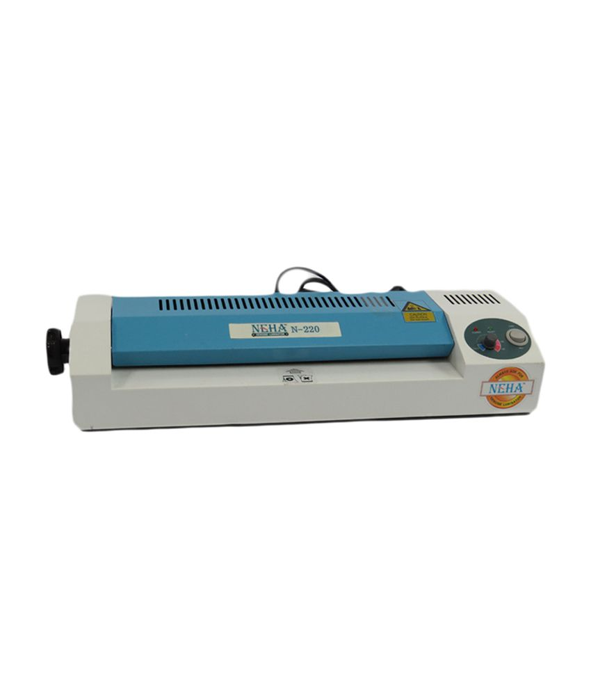 Neha Ne 220 Lamination Machine Buy Online At Best Price On Snapdeal