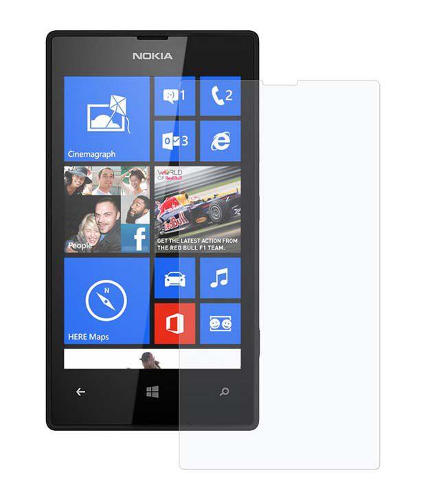 Uni Mobile Care 2 Matte Screen guards / Screen protector For Nokia Lumia 520