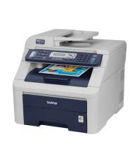 Brother MFC-9120CN Laserjet Printer - Grey