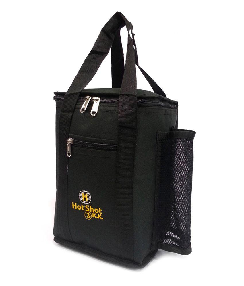 Belladona Waterproof Hotshot Lunch Bag   Black
