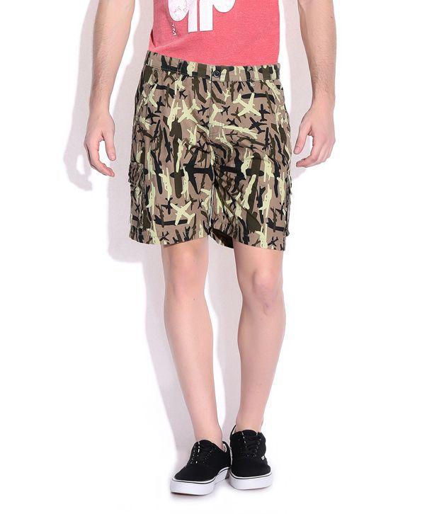 Francis Comfortable Printed Shorts