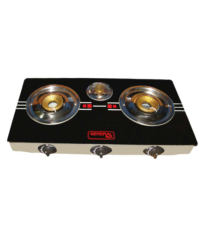 General AUX KOISTV01 Automatic Gas Cooktop (3 Burner)
