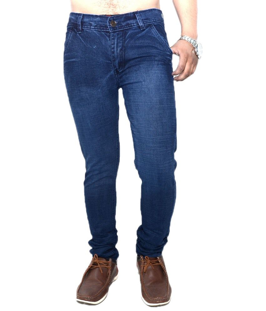 Nation Mania Sassy Navy Basics Jeans For Men