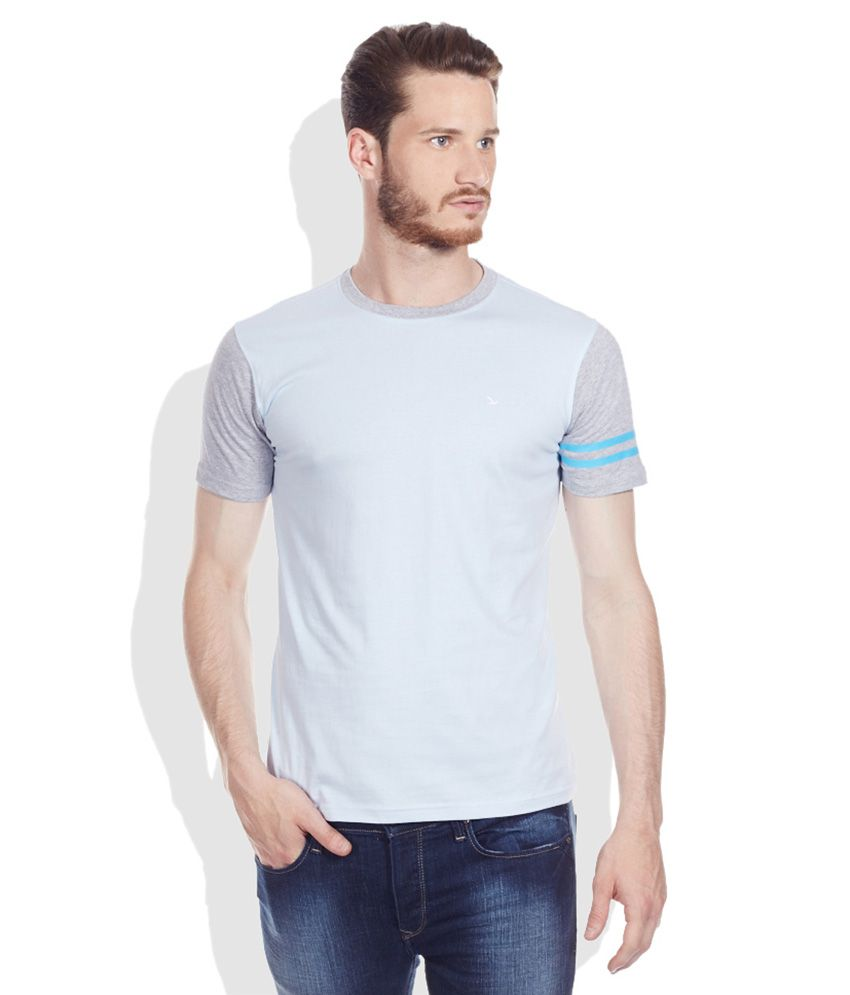 Ruggers Young Blue Round Neck T-Shirt