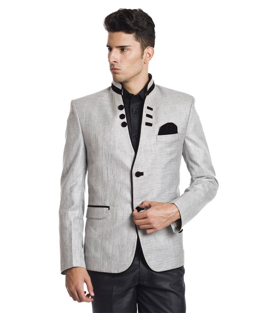 Wintage Regal Silver Blazer