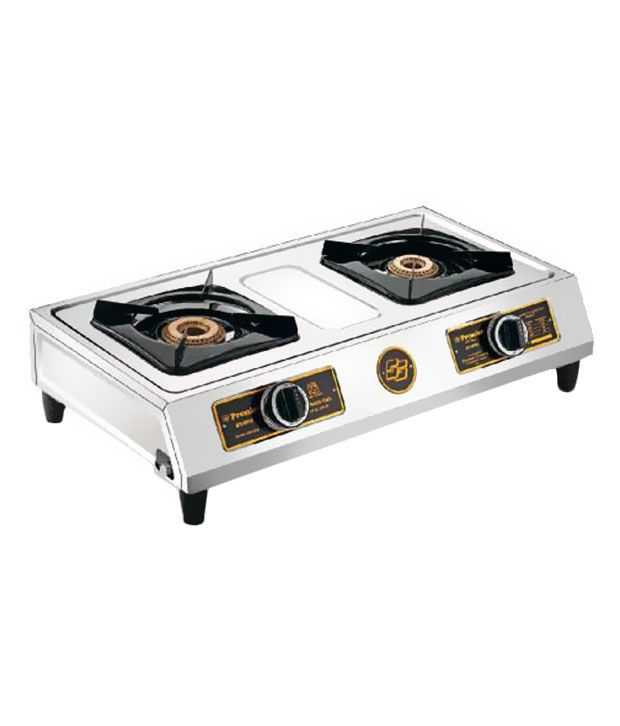 Premier Elite 2ET SS 2 Burner Gas Cooktop