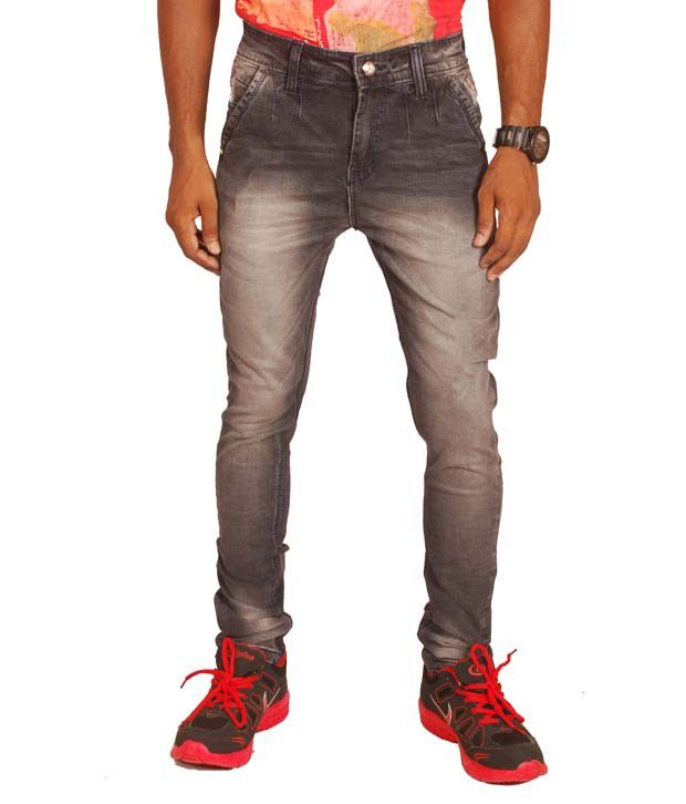 Altran Tan Cotton Blend Skinny Jeans