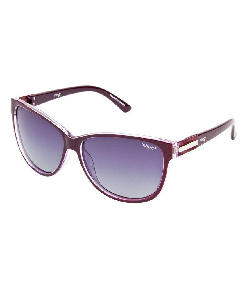 Image S487-C4P Polarized Over-sized Sunglasses