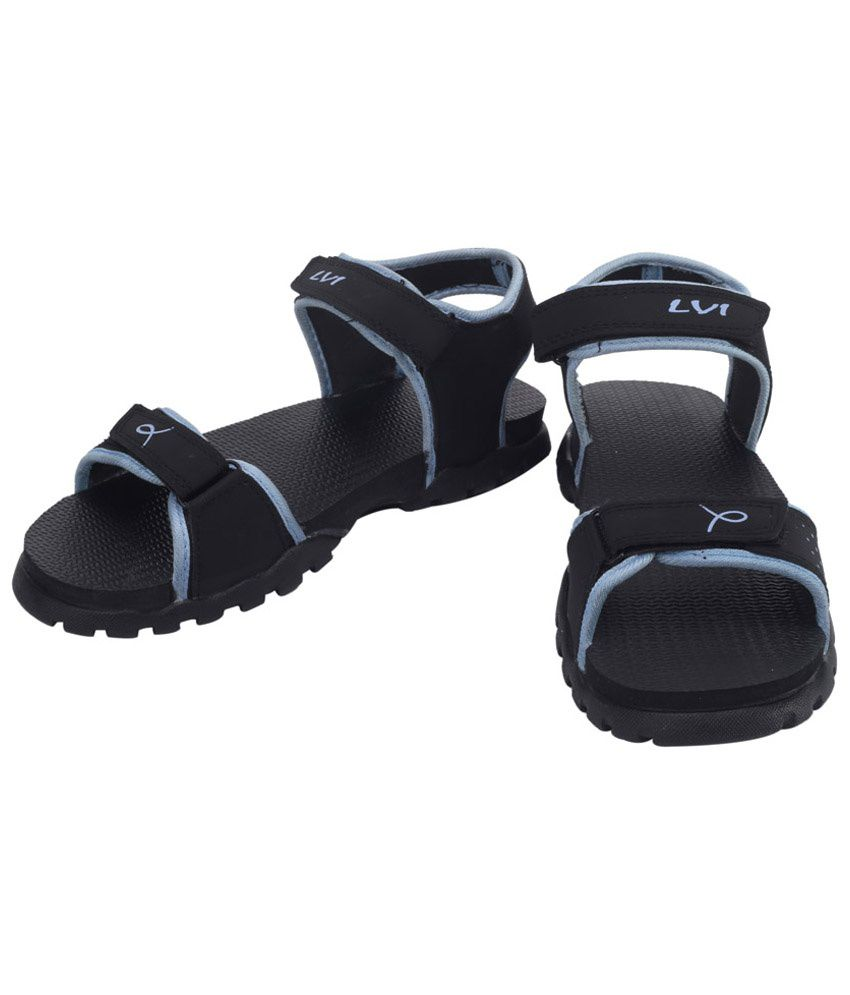 Black nubuck sandals - Lvi Black Nubuck Sandals Lvi Black Nubuck Sandals