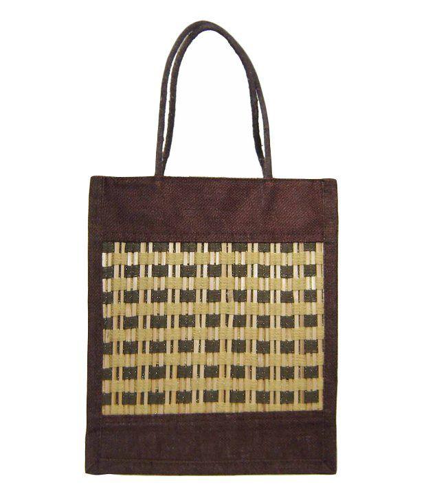 Saffron Craft Jute Lunch Bag