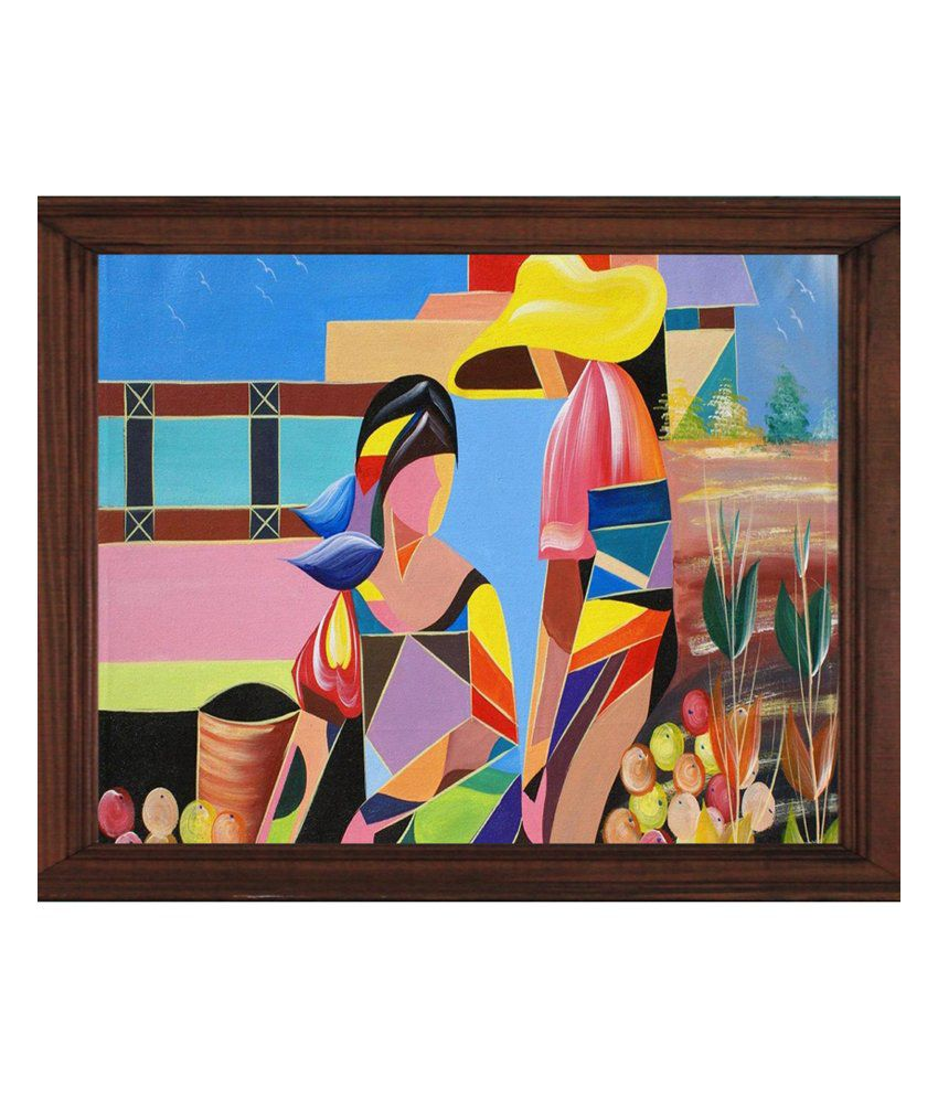 Sleepnature Canvas Chinese Couple Abstract Painting without Frame