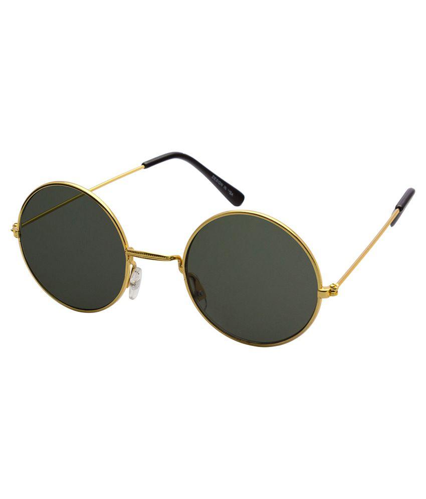 Yak International Golden Metal Sunglasses