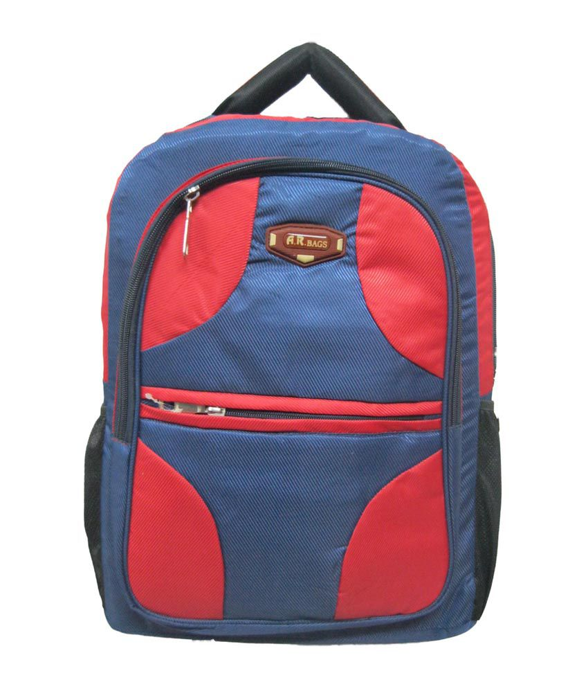 R-Dzire Red Water Resistant Polyester Ace 10 Laptop Bag