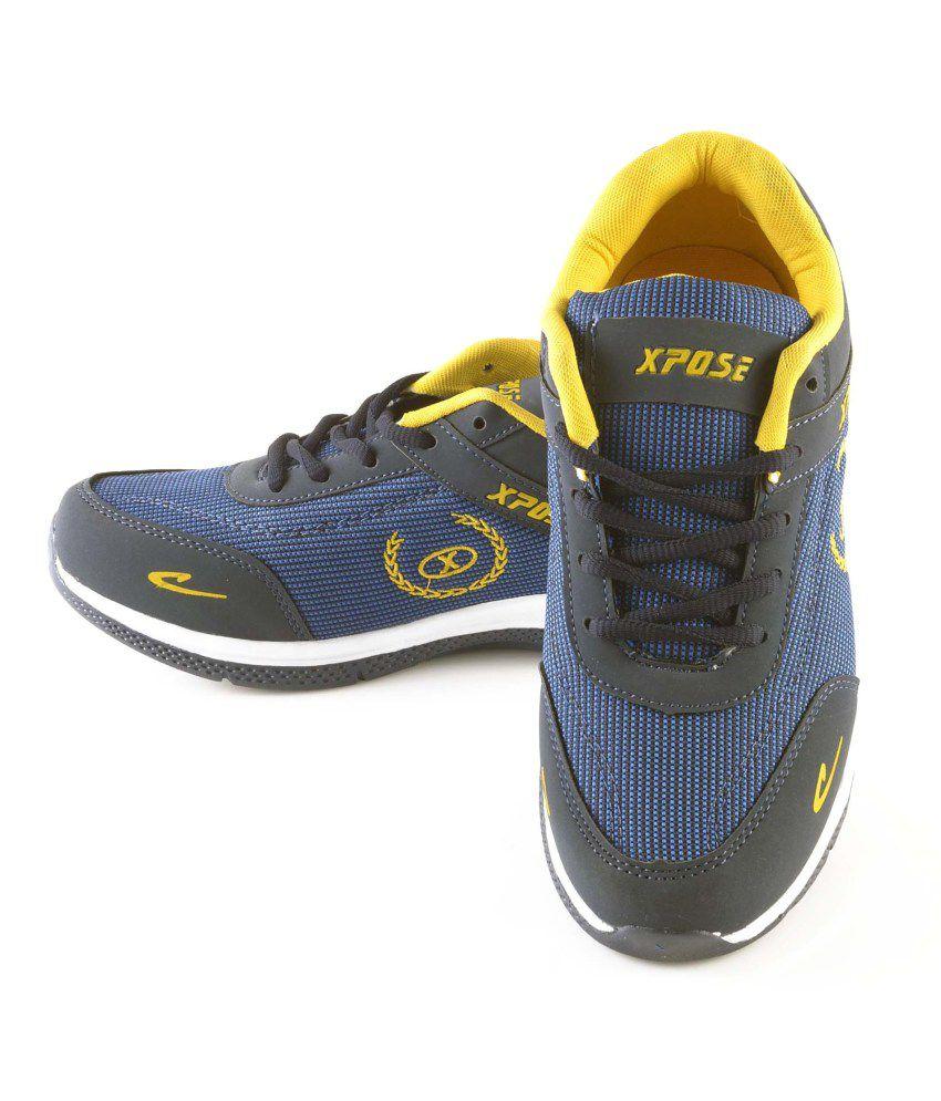 Xpose Blue Men Sport Shoes