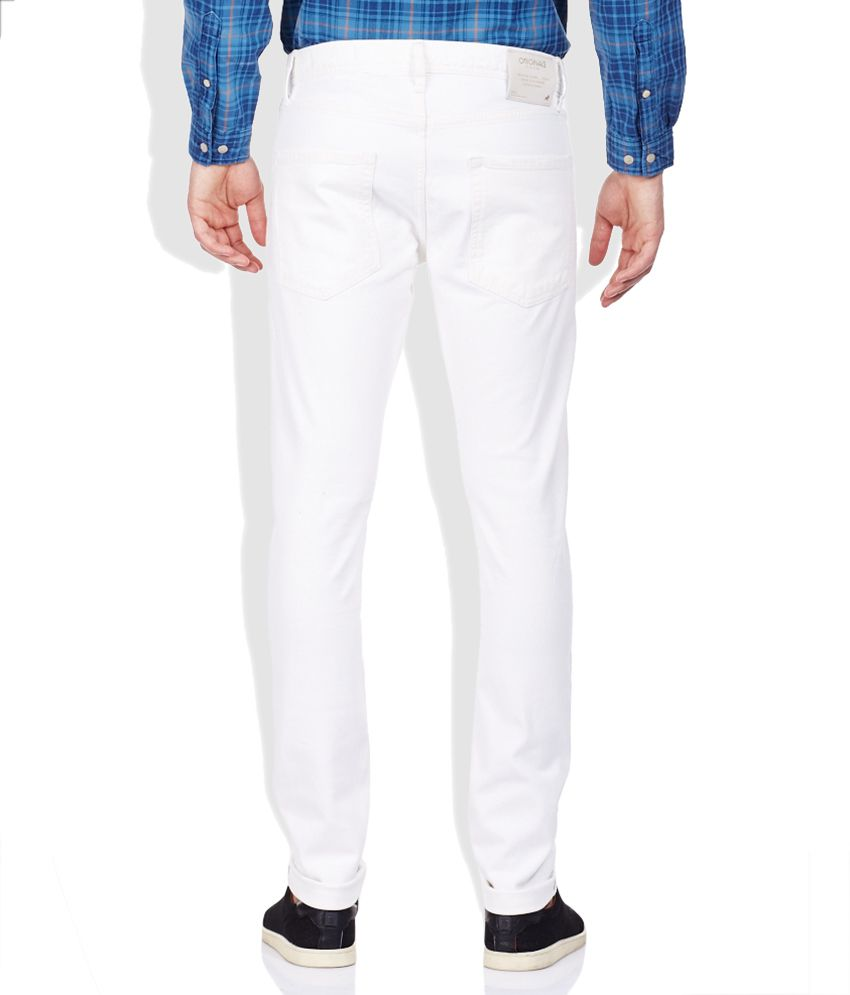 Jack & Jones White Jeans - Buy Jack & Jones White Jeans Online at ...