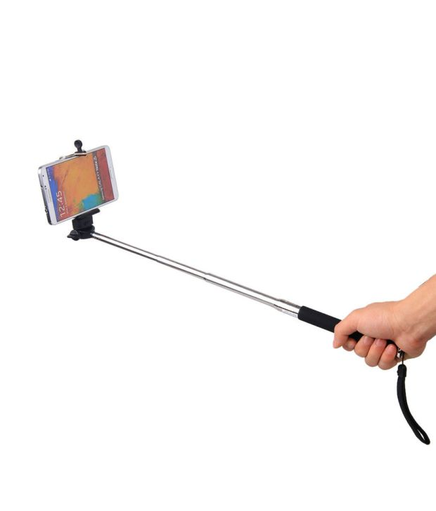 paracops selfie stick with bluetooth remote price in india buy paracops selfie stick with. Black Bedroom Furniture Sets. Home Design Ideas