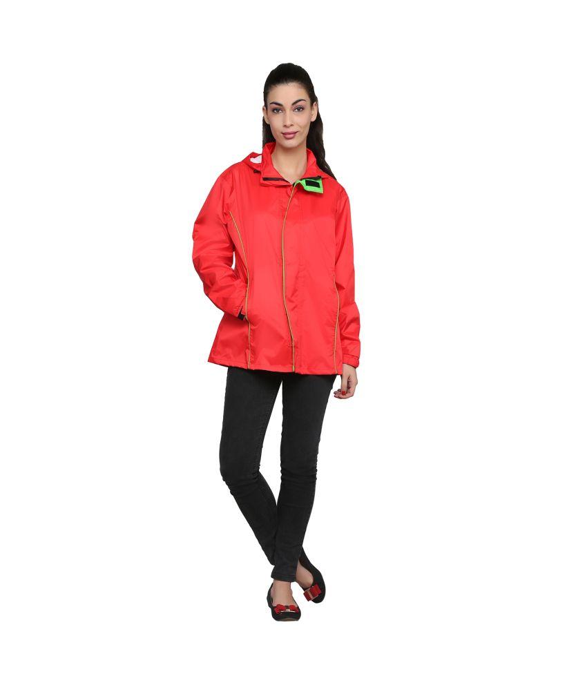 Zeel Navy Polyester Raincoat