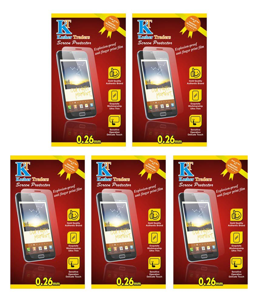 Micromax Canvas Play AntiGlare Screen Guard by Kosher Traders