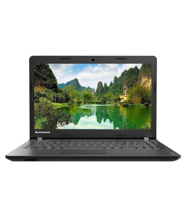 Lenovo Ideapad 100 80RK002DIH Notebook (5th Gen Intel Core i3- 4GB RAM- 500GB HDD- 35.56 cm(14)-DOS) (Black)