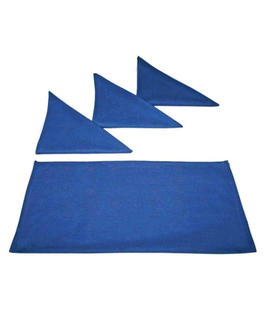 Sriam Blue Dining Napkin - Set of 4
