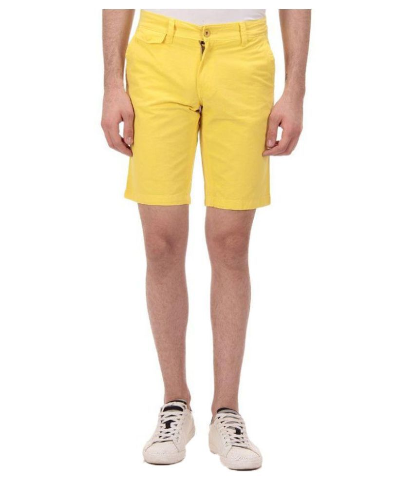 Ebry Yellow Shorts