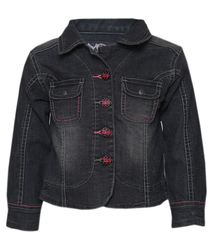 Tales & Stories Grey Denim Jacket