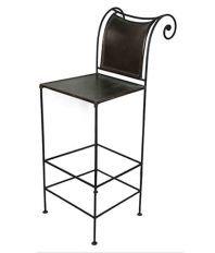 Dezaro Black Iron Chair