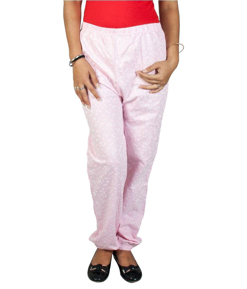 Fabpoppy Pink Cotton Pajamas