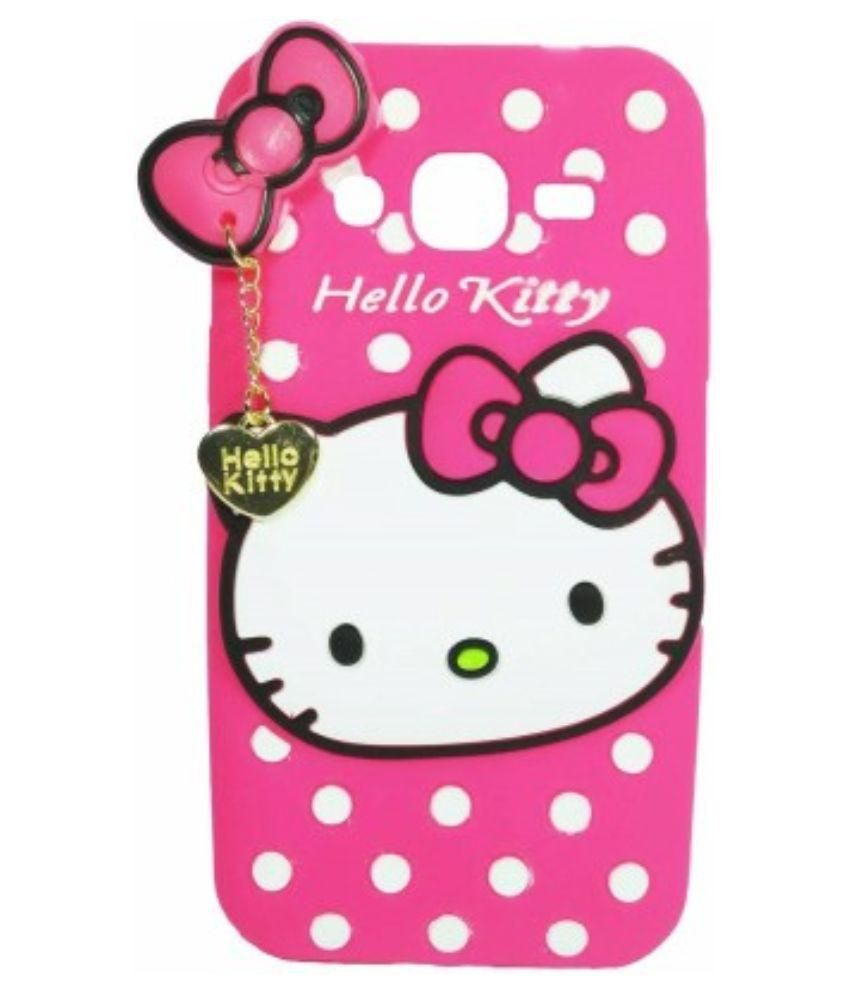 Fasaal hello Kitty Back cover for Lenovo A6000 Plus