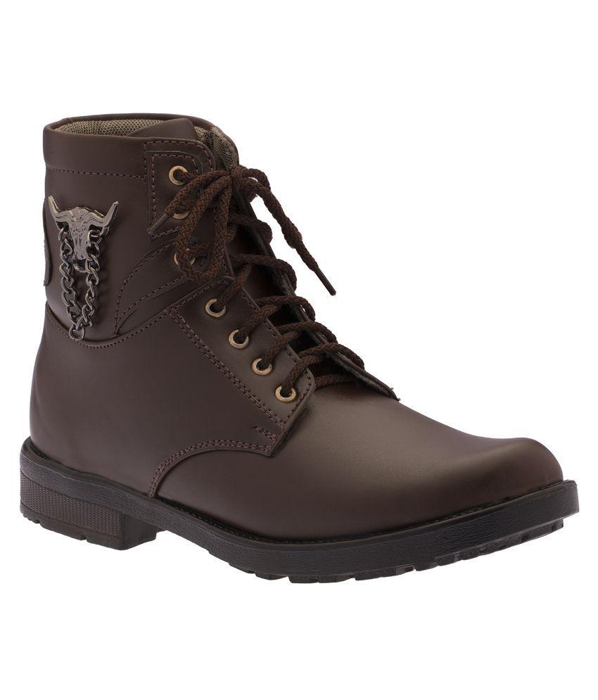 Footista Brown Boots