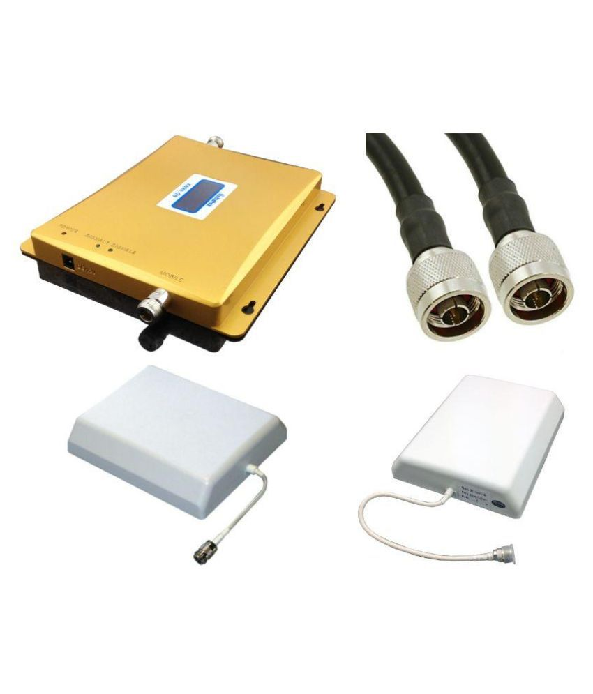 Lintratek LCD function 2G Dual Band GSM 1600 Mbps Mobile Cell Phone Signal Booster