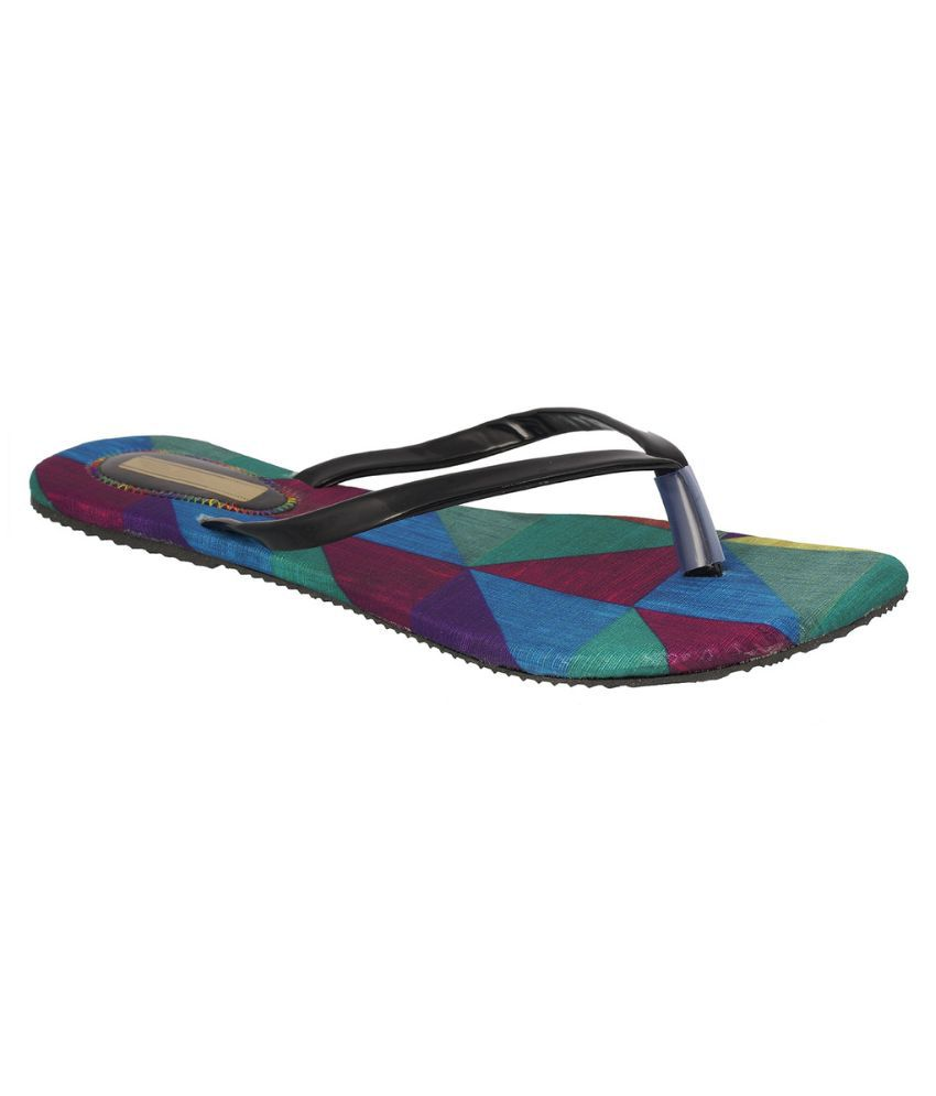 Suntrance Black Slippers