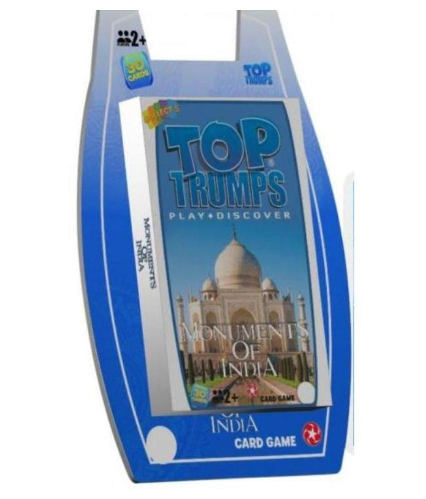 Monuments of India Top Trumps Card Game