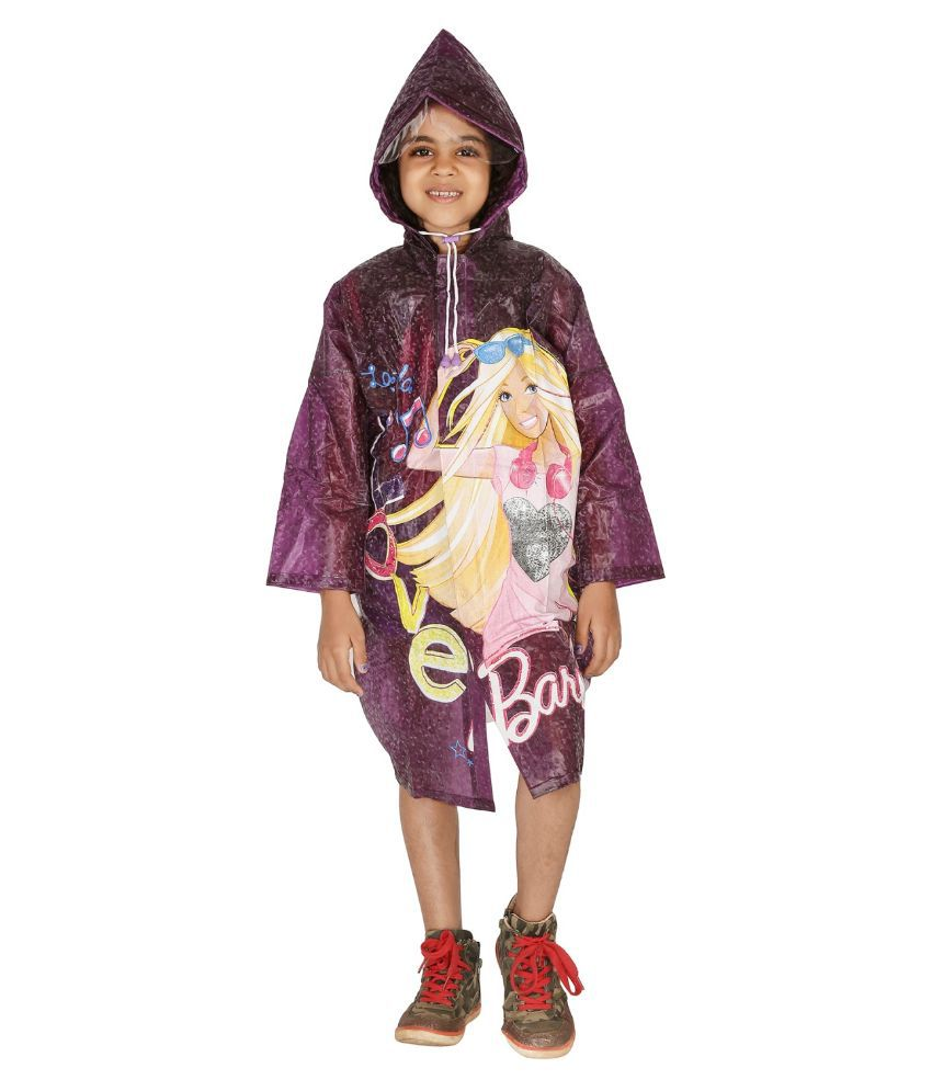 Zeel Purple Raincoat
