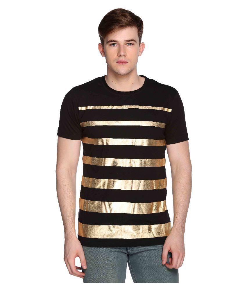 Club York Black Round T Shirt