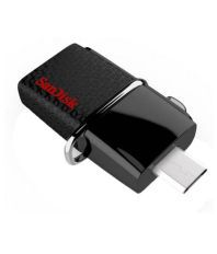 SanDisk Dual Ultra USB 16 GB Pen Drives Black