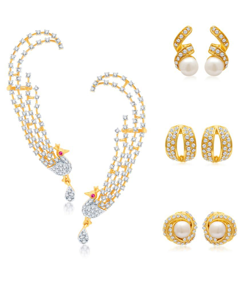 Sukkhi Earring Combo with Free Couple Movie Tickets
