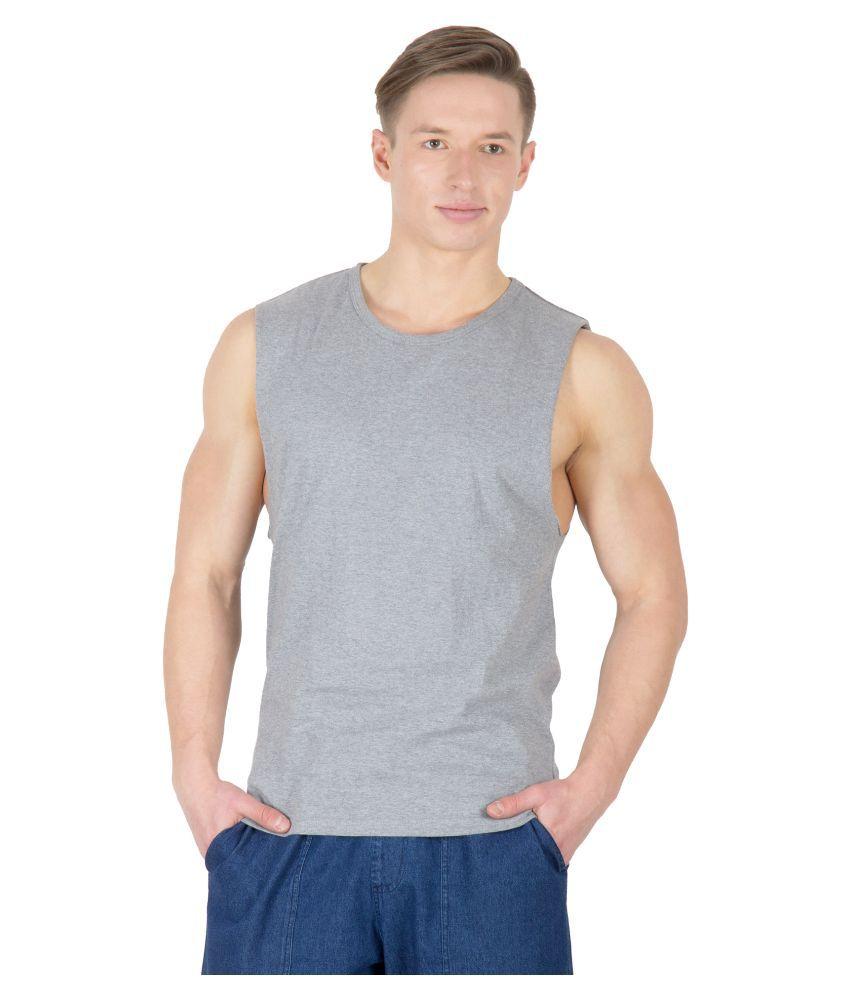 Hypernation Grey Round T Shirt