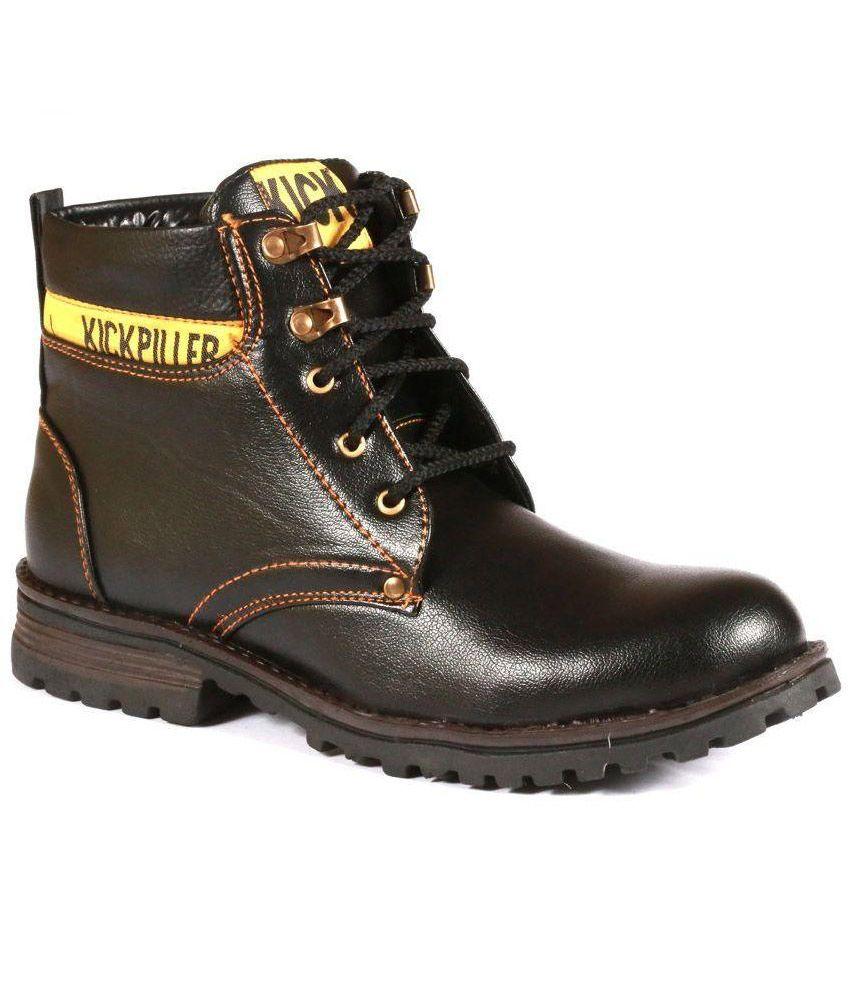Stylos Black Boots