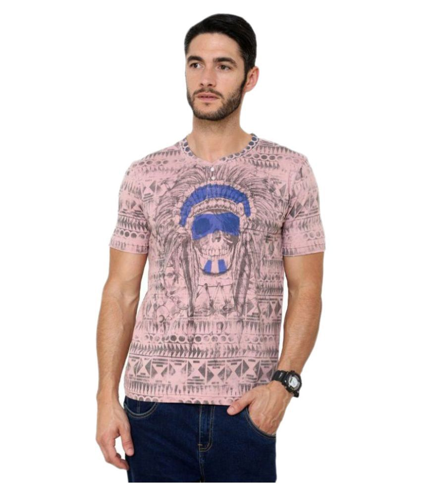 Era Of Attitude Pink Round T Shirt