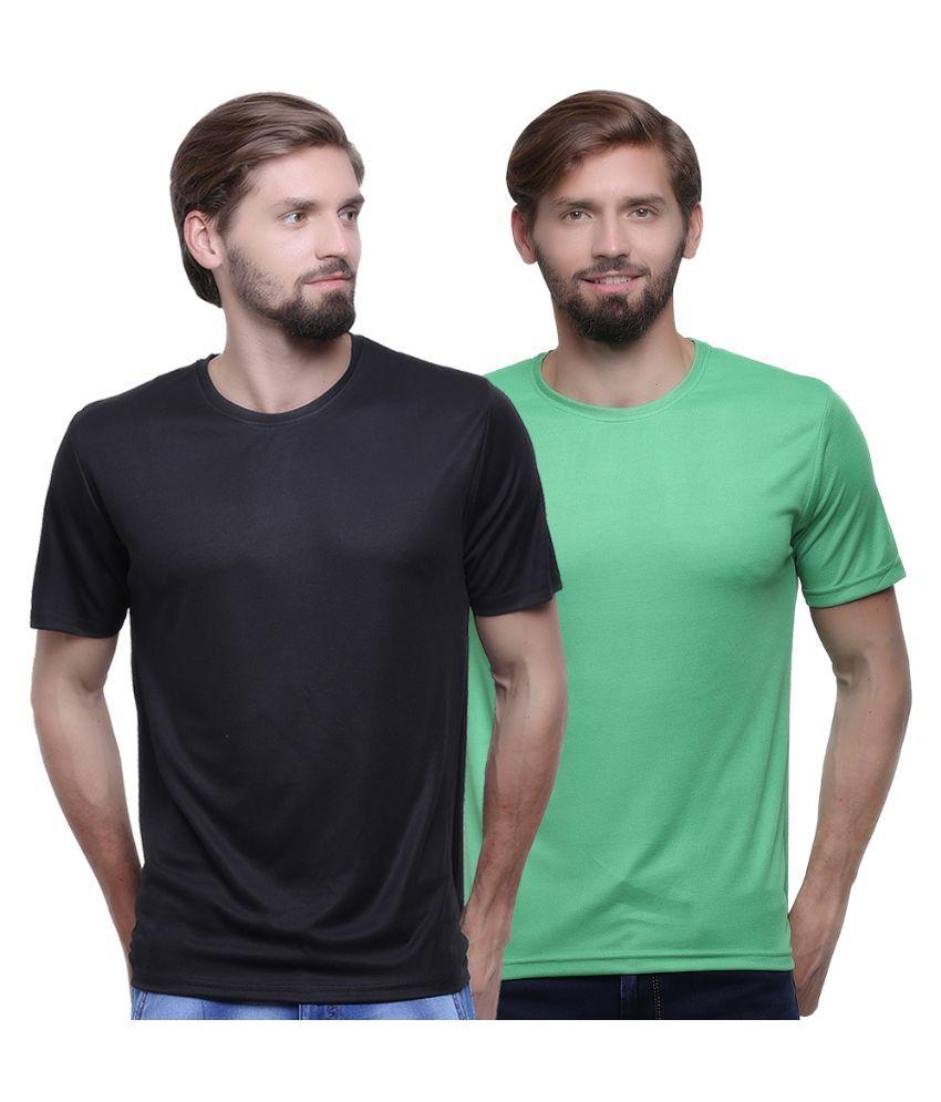 Go India Store Multicolor Round T Shirt