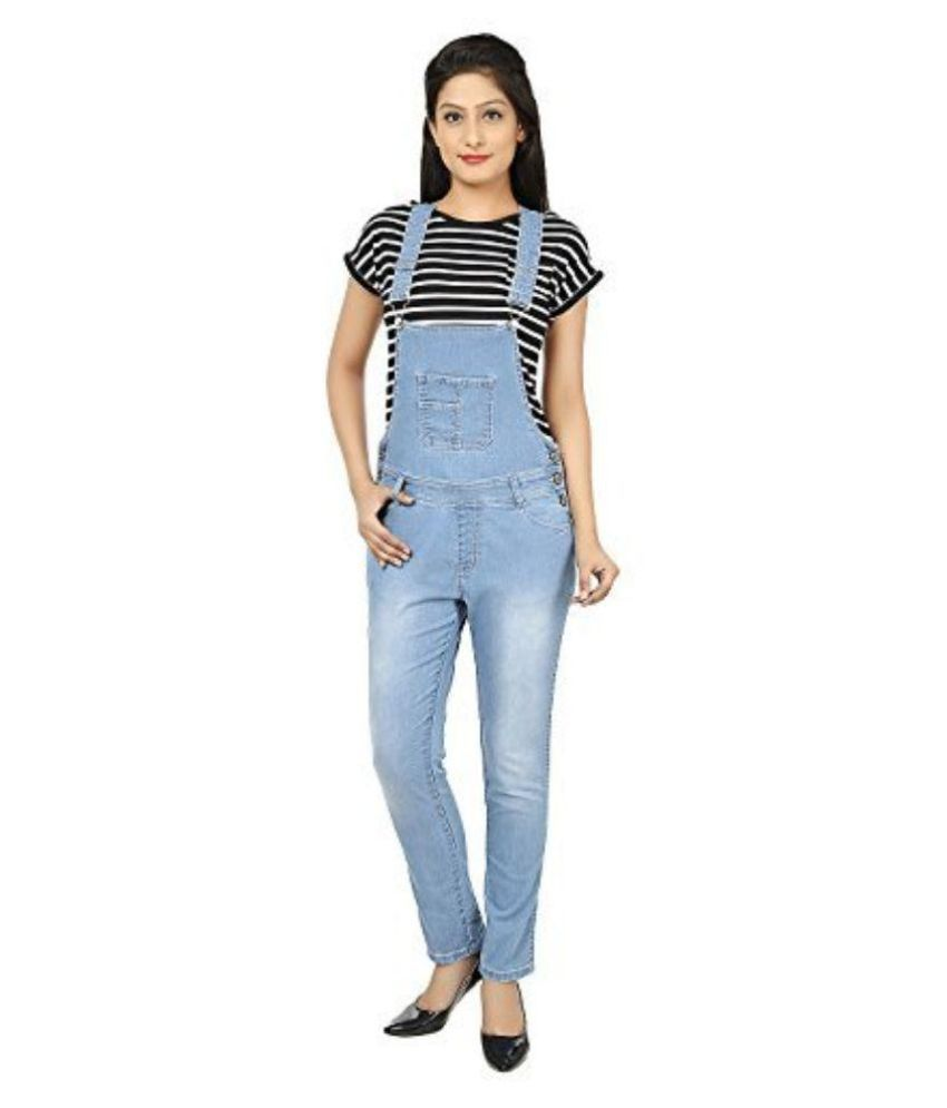 Buy Ursense Blue Denim Dungarees Online at Best Prices in India - Snapdeal 4d04bc401