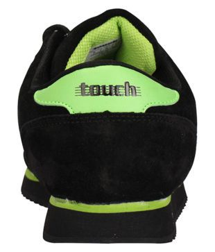 Lakhani Touch Black Running Shoes - Buy