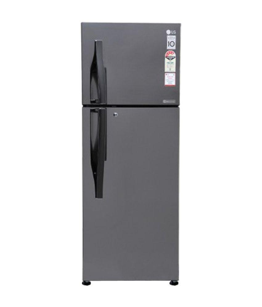 LG 284 LTR 4 Star GL-I302RTNL Frost Free  Refrigerator - Titanium