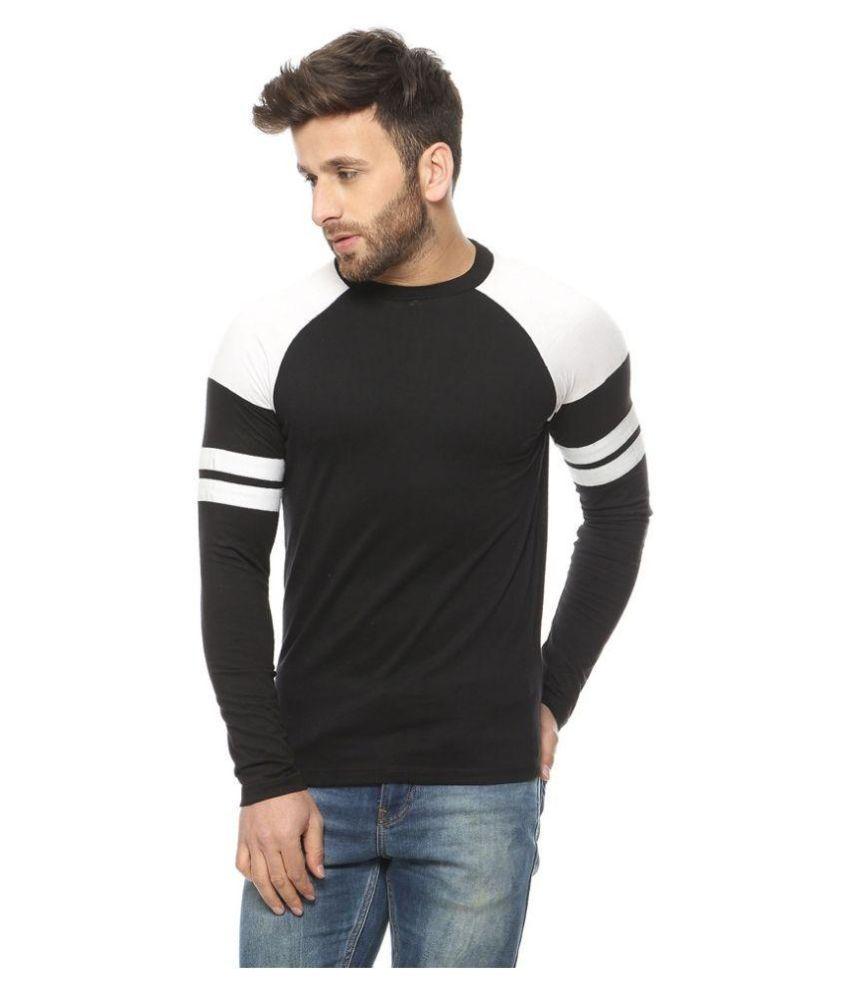 Gritstones Black Round T Shirt