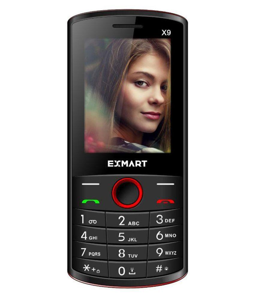 Exmart X9 ( Below 256 MB Black+Red )