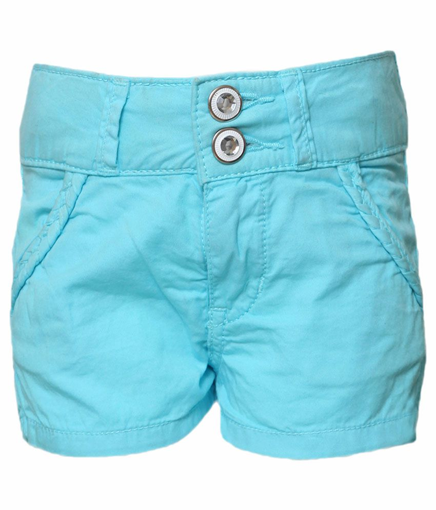 Tales & Stories Blue Denim Short