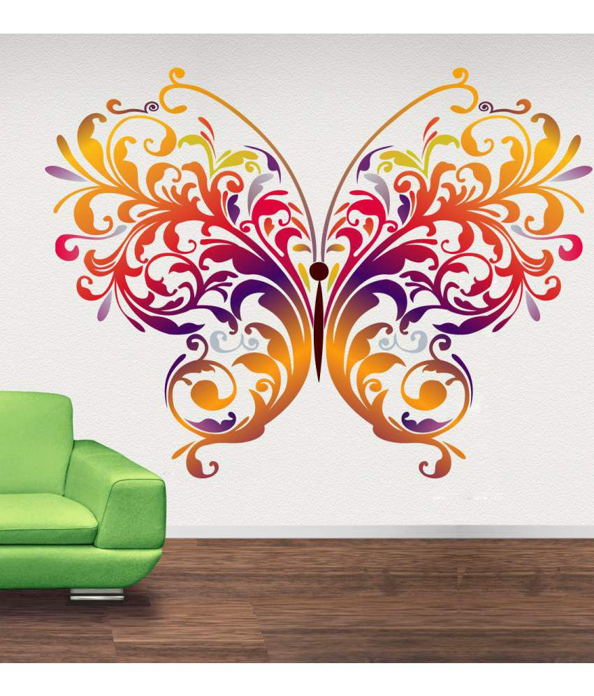 Decor kafe pvc wall sticker buy decor kafe pvc wall for Home decor 90 off